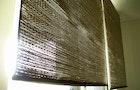 Build a curtain using $1 beach mats