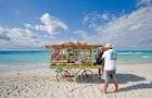 The push carts of Varadero beach