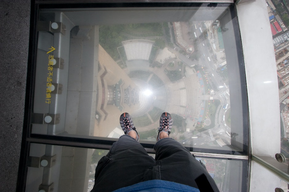Oriental Pearl Tower glass floor