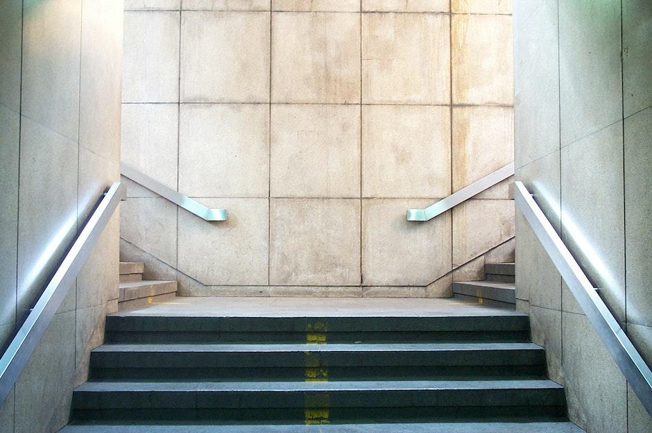 A subway exit